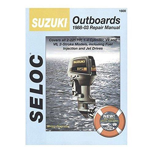SUZUKI Outboard 1988-1999, 2-225 HP Repair Manual (Suzuki Outboard Manual)