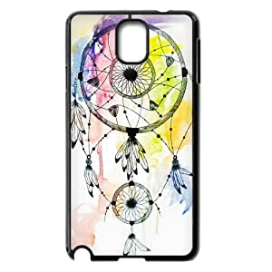 HOT sale, Colorful Dream Catcher Dreamcatcher picture for black plastic Samsung Galaxy Note 3 case