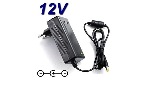 Cargador y adaptador de 12 V para TV de pantalla LCD Grundig 22VLE5520WG de 22 pulgadas (55 cm): Amazon.es: Electrónica