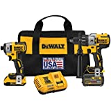 DEWALT DCK299D1T1 20V MAX FLEXVOLT Brushless Premium Hammer Drill and Impact Combo Kit
