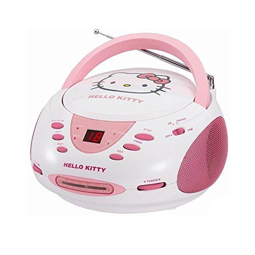 Hello Kitty Stereo CD Boombox with AM/FM Radio consumer electronics Electronics (Hello Kitty Stereo Radio Am Fm Cd)
