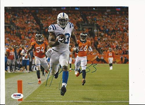 Dwayne Allen Indianapolis Colts Hand Autographed Signed Autograph Color 8x10 PSA/DNA X75063