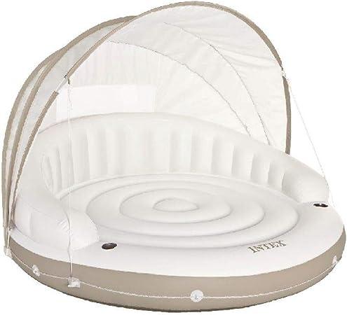 Intex 58292EU - Isla hinchable Canopy crema 199 x 150 cm: Amazon ...