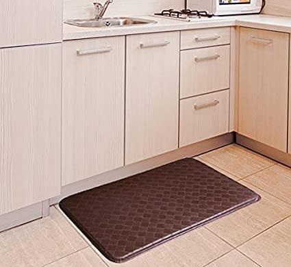 GPCT Anti Fatigue Memory Foam Home/Kitchen Mat And Anti Slip Surface,