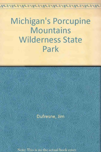 Michigan's Porcupine Mountains Wilderness State - Wi Green Parks Bay In