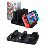 Nintendo Switch Joy-Con Charging Stand, VPRAWLS Joy-Con Charging Dock Station for Nintendo Switch Joy-con Controllers