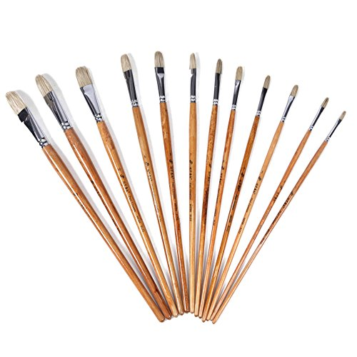 surblue-horse-hair-brush-1-set-of-12-pcs-for-watercolor-acrylic-oil-and-gouache-painting