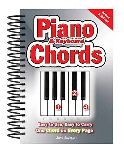 Piano & Keyboard Chords: Easy-to-Use, Easy-to-Carry, One Chord on Every Page (Piano Chord Poster)