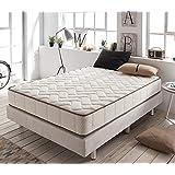 ZENG-Visco Luxury Royal Cashmere Memory Foam Mattress. Medium Firmness Level. 10 Inch, Queen