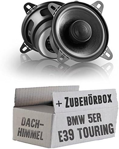 Eton Prx110 2 10cm Koax System Lautsprecher Einbauset Für Bmw 5er E39 Touring Dachhimmel Just Sound Best Choice For Caraudio Navigation