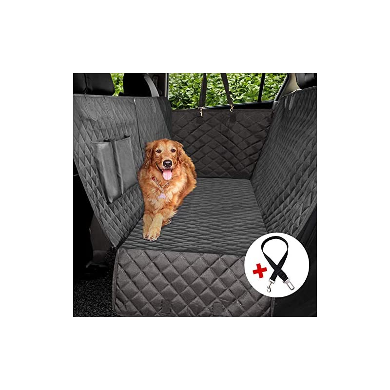 dog supplies online vailge dog car seat covers, 100% waterproof scratch proof nonslip dog seat cover, 600d heavy duty seat cover for dogs, dog car hammock pet seat cover for back seat car trucks suv