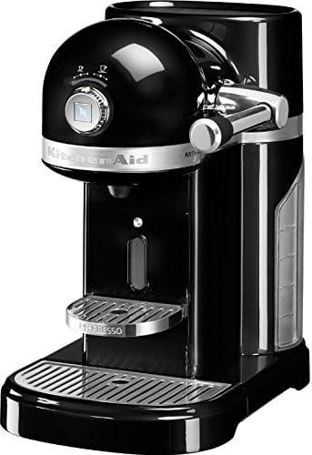 KitchenAid Artisan Nespresso freistehend halbautomatisch Maschine f/ür Espresso 1.4L schwarz