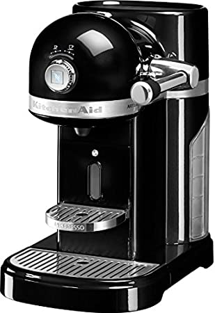 KitchenAid Artisan Nespresso Independiente Semi-automática Máquina espresso 1.4L Negro - Cafetera (Independiente