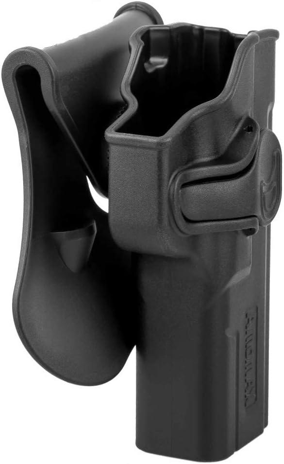 Amomax Holster pour Paddle Cyma CM127 Noir