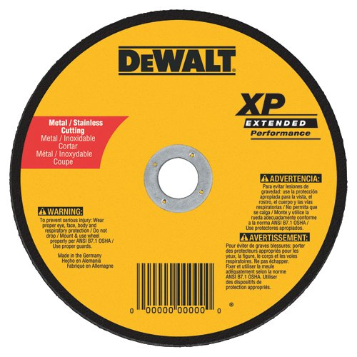 DEWALT DW8854 XP Cutoff Wheel, 7-Inch X .045-Inch X 7/8-Inch