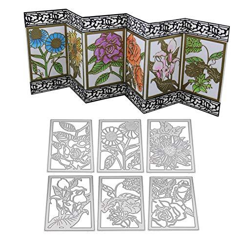 - 2019 Newest Plant Metal Die Cutting Dies Handmade Stencils Template Embossing for DIY Card Scrapbooking Craft Paper Decor by E-Scenery (B)