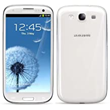 Samsung Galaxy Siii S3 Sgh-I747 White At&T 4G Lte Unlocked Cell Phone No Contract No Warranty - At&T Logos