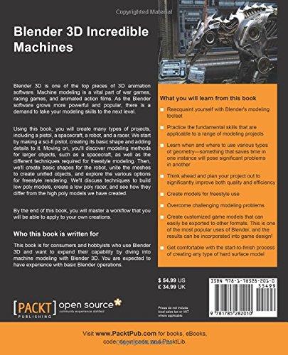 Blender 3d 249 Incredible Machines Brito Allan