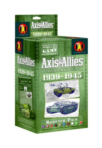 Axis and Allies Minis 1939-1945 Booster (Axis And Allies Miniatures)
