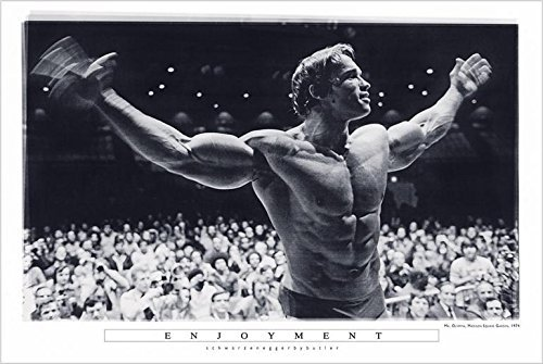 Enjoyment - Arnold Schwarzenegger Mr Olympia Madison Square