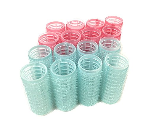 Medium Size Self Grip Hair Rollers Pro Salon Hairdressing Curlers by HAIR ROLLERS (Image #7)