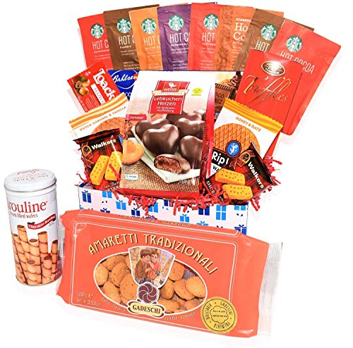 - Care Package - Snacks, Nuts, Bars, Truffles,Cookies - Great Gift Basket Variety