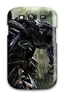 Durable Defender Case For Galaxy S3 Tpu Cover(shockwave In Transformers 3) by icecream design