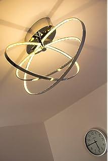 LED Deckenleuchte Ringos Oval 30 Watt 1600 Lumen 3000 Kelvin