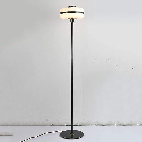 Postmodern Simple Copper Glass Lámpara de pie Restaurante ...