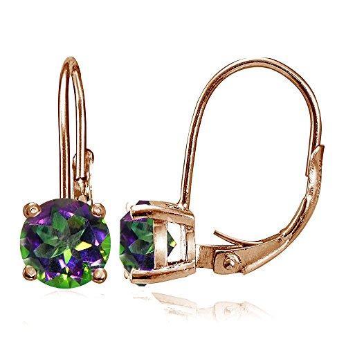 Green Topaz Earring - 8