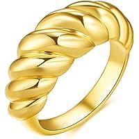 Sping Jewelry Anneau de Bande de Superman profond/ément grav/é Super h/éros Bijoux en Acier au Titane Largeur 8mm pour Homme Taille 6-13 Bague