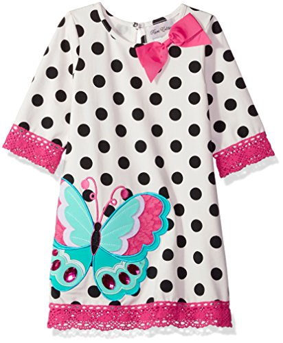 Counting Daisies Girls Applique Dress