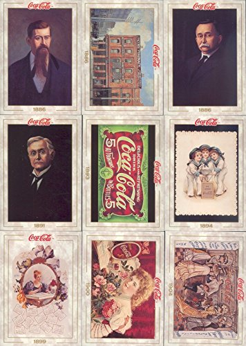 - COCA COLA COLLECTION SERIES 1 1993 COLLECT-A-CARD COMPLETE BASE CARD SET OF 100