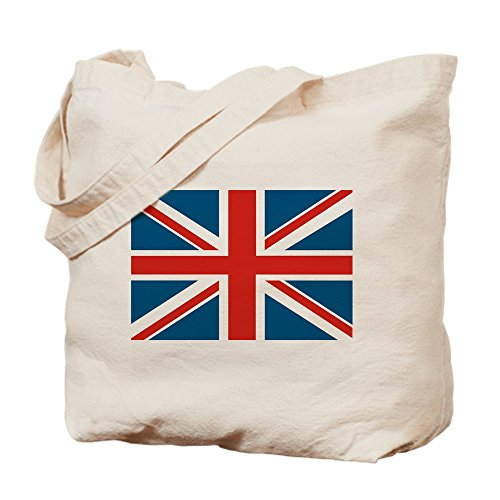 CafePress–Gamuza de bandera de Reino Unido–lona bolso, bolsa de la compra