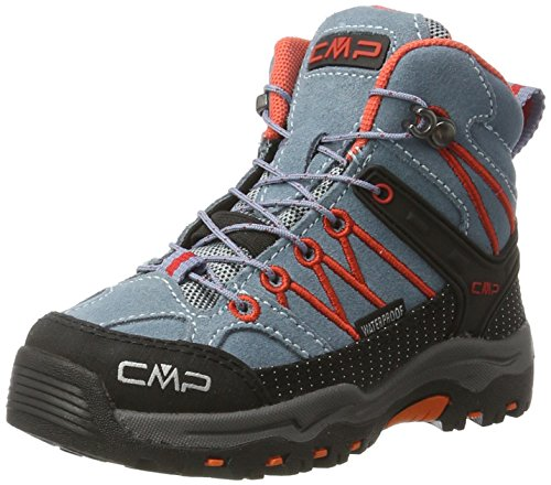 Adulte acciaio Hautes De Mid Mixte Chaussures Gris Cmp Rigel Wp Randonnée A4wO6