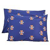 NCAA Cotton Sateen Pillow Case (Set of 2) NCAA Team: Illinois