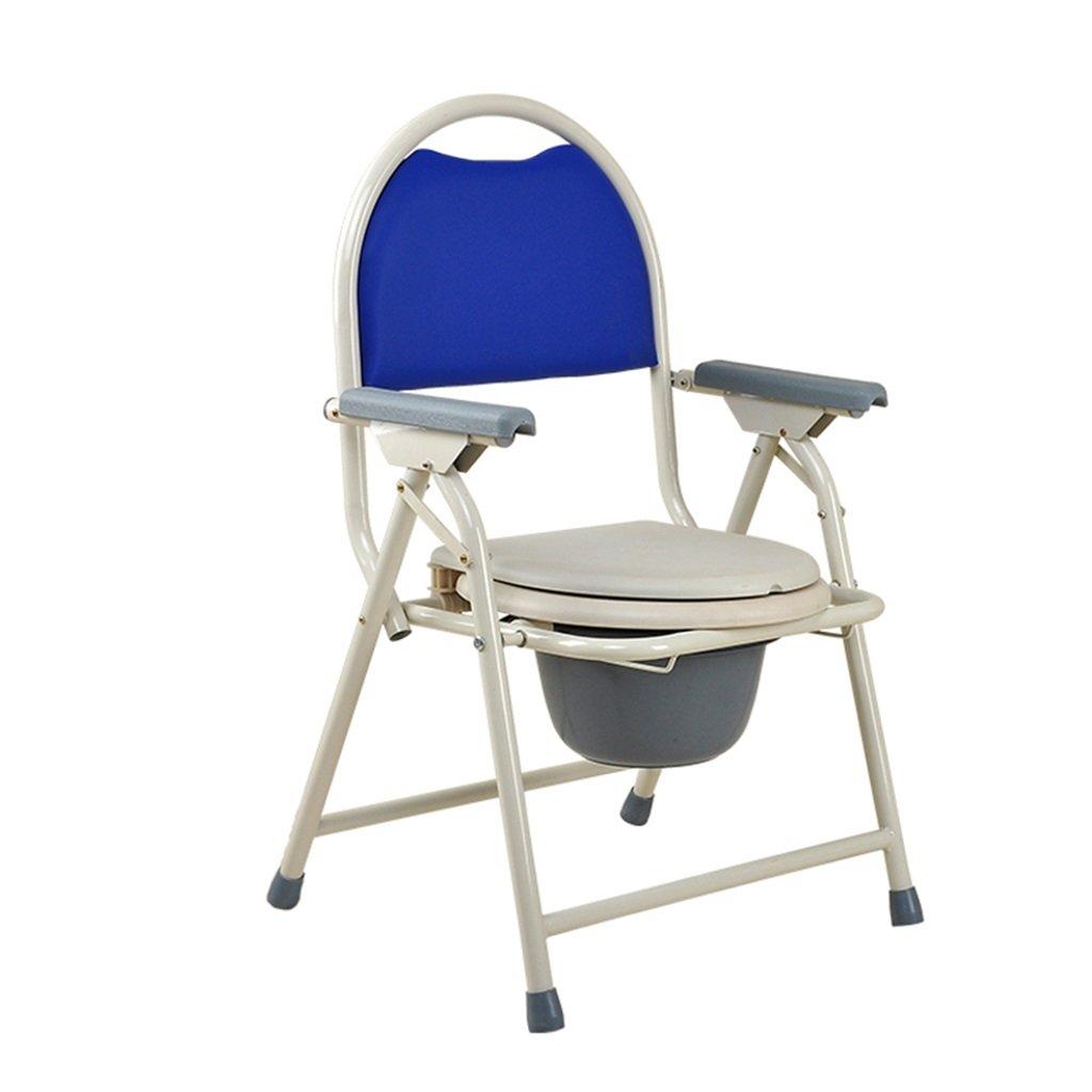トイレ椅子トイレ椅子入浴椅子リムーバブルトイレ高齢者/妊婦/障害者スチールチューブトイレチェア最大150kg B07DJ3BPKF