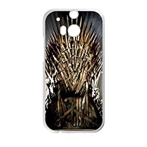 DAZHAHUI game of thrones chair Phone Case for HTC One M8
