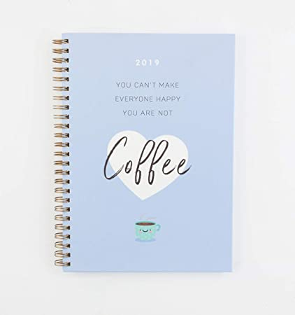 Casterli - Agenda Anual 2019 16x22cm Semana Vista - Coffe ...
