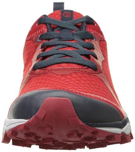 Out All Uomo Rosso Scarpe Da Merrell Running Light Crush Trail red q5wUdR