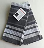 KitchenAid 2 Pack Striped Deluxe Silver Towels