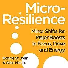 Micro-Resilience   Livre audio Auteur(s) : Bonnie St. John, Allen P. Haines Narrateur(s) : Bonnie St. John, Allen P. Hayes