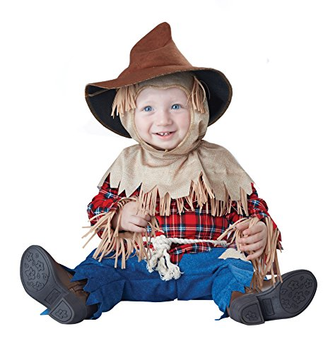 California Costumes Baby Boys' Silly Scarecrow Infant, Brown/red, 18 to 24 Months]()