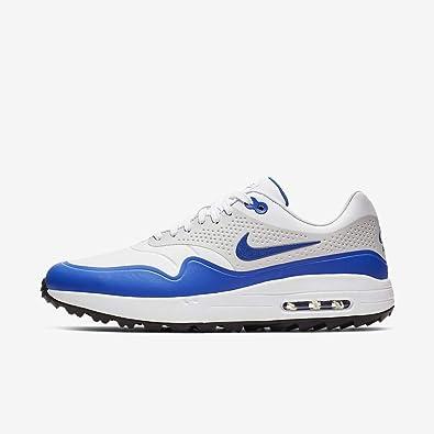 newest a36ea 1bc96 Amazon.com | Nike Air Max 1 G Mens Golf Shoes Aq0863 ...