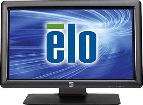 Elo E107766 Desktop Touchmonitors 2201L IntelliTouch Plus 22'' LED-Backlit LCD Monitor, Black