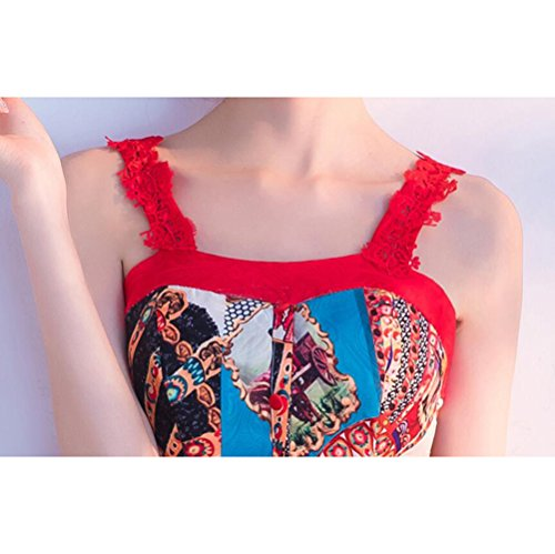 Farbe MoMo Party Abendkleid des Sommers Geburtstags Kurze Parteidamen Kursteilnehmer Reizvolle Kleiderfrau Reizvolle 776wPq4x