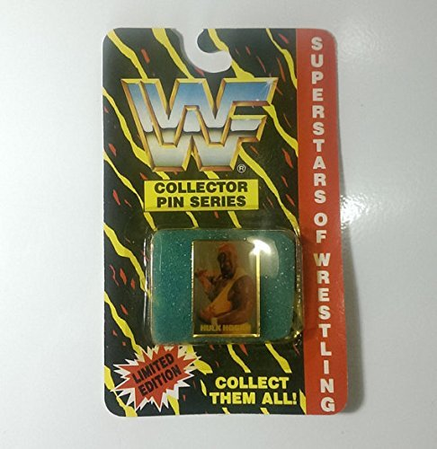 **SALE** Vintage WWF WWE 1991 Hulk Hogan Limited Edition Vintage Wrestling Collector Vest Hat Pin WCW - FREE SHIPPING (Wwe 1991)