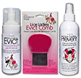 Lice Ladies Treatment 3pack Combo Kit / 3 Product