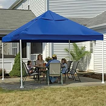 this item 12 x 12 feet canopy 2 inch 4leg frame blue cover - 12x12 Canopy