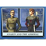 Star Wars Rogue One Mission Briefing Blue Base Card #9 Anakin and the Admiral